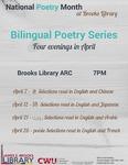 Bilingual Poetry Series 2015