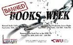 Banned Books Week 2015 by Central Washington University