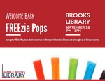 Welcome Back Freezie Pops Fall 2015 by Central Washington University