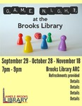 Game Night at the Brooks Library September 2015 by Central Washington University