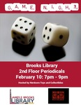 Game Night at the Brooks Library Febrary 2016 by Central Washington University