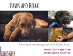 Paws and Relax Winter 2016