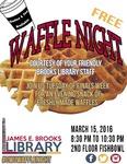 Waffle Night Spring 2016