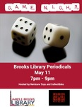 Game Night at the Brooks Library May 2106