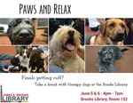 Paws and Relax Spring 2016