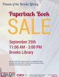 Friends of the Library Paperback Book Sale