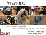 Paws and Relax November 2016