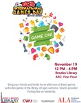 International Games Day @ Your Library 2016