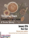 Welcome Back Cookies & Cocoa Winter 2017