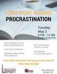Long Night Against Procrastination: May 2017
