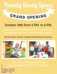 Family Study Space Grand Opening