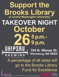 Brooks Library Takeover Night at Whipsaw Brewing
