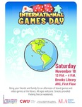 International Games Day @ Your Library 2017