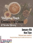 Welcome Back Cookies & Cocoa Winter 2018 by Central Washington University