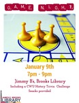Game Night at the Brooks Library January 2018 by Central Washington University