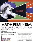 Art & Feminism Wikipeda edit-a-thon: Winter 2018 by Central Washington University