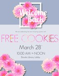 Welcome Back Cookies Spring 2018 by Central Washington University