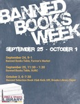 Banned Book Week Events 2016