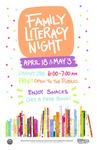 Family Literacy Night Spring 2017