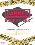 Banned Books Week: Freedom to Read Table 2018 by Central Washington University
