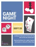 Game Night Fall 2018 by Central Washington University