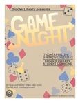 Game Night April 2019 by Central Washington University