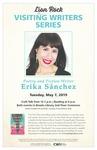 Lion Rock Visiting Writers Series: Erika Sanchez