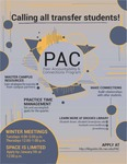 PAC: Peer Accountability & Connections program for transfer students