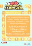 International Games Week 2019
