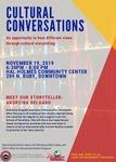 Cultural Conversations November 2019