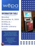 Wepa Printers Information Table