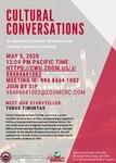 Cultural Conversations May 2020