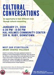 Cultural Conversations January 2020