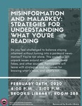 Misinformation and Malarkey: Strategies for Understanding What You're reading
