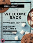 Welcome Back Cookies and Cocoa Winter 2020