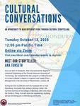 Cultural Conversations October 2020
