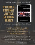 Racism and Criminal Justice Book Discussion: September 2020