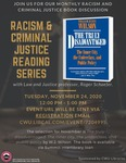 Racism and Criminal Justice Book Discussion: November 2020 by Central Washington University and Roger Schaefer