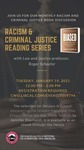 Racism and Criminal Justice Book Discussion: January 2021 by Central Washington University and Roger Schaefer