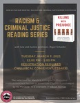 Racism and Criminal Justice Book Discussion: March 2021 by Central Washington University and Roger Schaefer