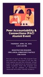 Peer Accountability & Connections (PAC) Alumni Event by Central Washington University and Elizabeth Brown