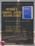 Racism and Criminal Justice Book Discussion: June 2021 by Central Washington University and Roger Schaefer