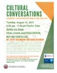 CULTURAL CONVERSATIONS : Dr. Sathy Rajendran and Banu Jayamani share their life experiences in India and America by Sathyanarayanan Rajendran and Banu Jayamani