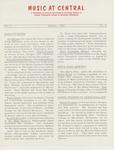Music Newsletter 62SU1