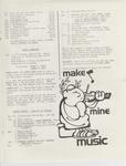 Music Newsletter 79W15