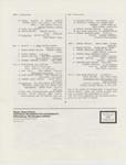 Music Newsletter 84F6
