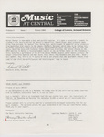 Music Newsletter 84W1