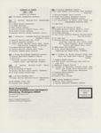 Music Newsletter 86SP6