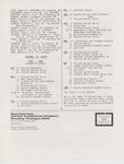 Music Newsletter 87SU6