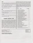 Music Newsletter 94F10